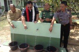 Peresmian Fasilitas Air Bersih di Perbatasan Kalbar