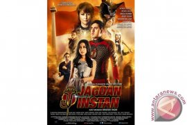 Jagoan Instan, film komedi pahlawan super Indonesia