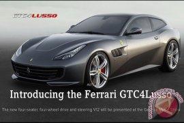 Ferrary GTC4 Lusso Diluncurkan dengan Konsep Grand Tourer