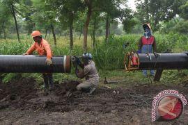 Membangun infrastruktur gas dari Barat ke Timur Kalimantan