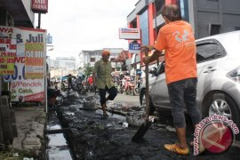 Banjarmasin only maintains drainage