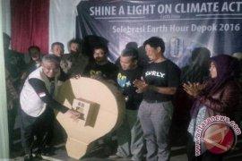 Earth Hour Depok Dipusatkan Di Lembah Gurame