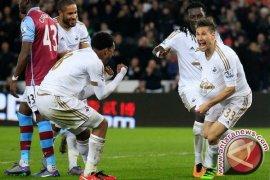 Swansea Jinakkan Aston Villa 1-0