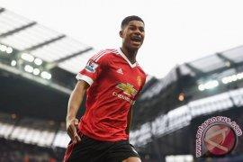 Rashford tampil heroik pada derby Manchester