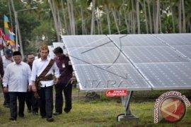 President Jokowi Arrives In Morotai To Inaugurate Power Plants