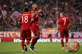 Bayern Tundukkan Benfica Berkat Gol Vidal