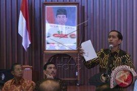 Jokowi Minta Pimpinan Daerah 'Mesra' Sampai Akhir