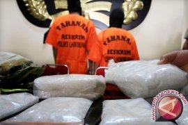 Polisi Jambi ungkap modus shabu-shabu dalam pempek
