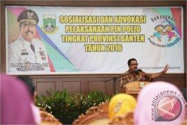 Sasaran PIN Polio Di Banten 1,2 Juta Balita