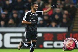 Bintang Leicester City Mahrez ingin hengkang