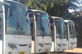 98 Persen Kursi Bus Mudik Gratis Terisi