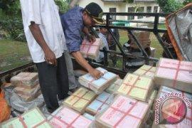Distribusi Soal UN SMP di Pedalaman Aceh