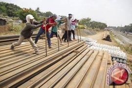 Proyek double-double track dilanjutkan