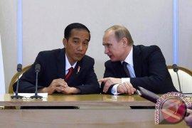 Presiden Putin rencana bertemu Jokowi di Singapura