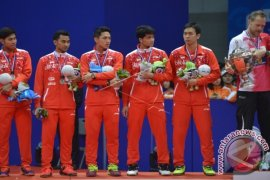 Tim Indonesia Gagal Rebut Piala Thomas ke-14