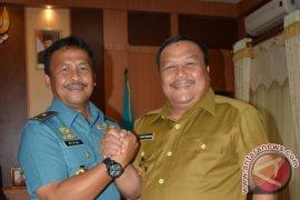 Walikota Terima Kunjungan Danlantamal II Padang
