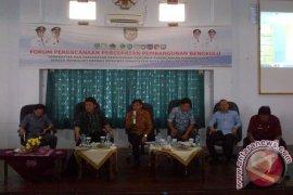 Bappeda Mukomuko gelar rapat forum perencanaan percepatan pembangunan Bengkulu