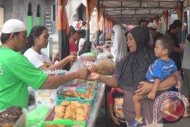 Kawasan Kampung Jawa Jadi Pasar Dadakan
