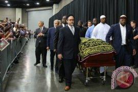 Tyson hadiri pemakaman Muhammad Ali