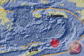 Gempa tektonik Magnitudo 6 guncang Saumlaki tidak berpotensi tsunami
