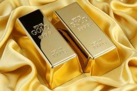 Harga emas bangkit, naik 9,7 dolar AS catat keuntungan mingguan