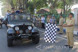 Piala Adipura Kirana Diarak Keliling Kota Madiun
