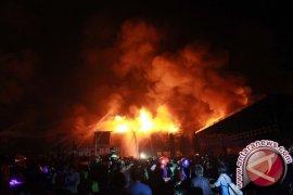 Sekeluarga tewas terbakar di Makassar