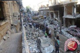 Serangan udara terus gempur Aleppo, evakuasi terhambat