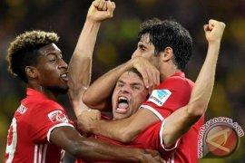Hajar Dortmund 2-0, Bayern Munchen juara Piala Super Jerman 2016