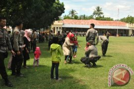 100 Personil Brimob Polda Gorontalo Tiba Dari Papua