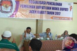 KIP Aceh Barat sosialisasi syarat pencalonan
