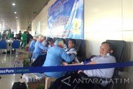 Bandara Juanda Gelar Donor Darah Peringati Harhubnas