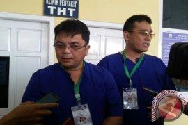 Dua pasangan peserta Pilkada tes kesehatan calon bupati