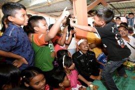 Bupati Purwakarta Terapi Pemulihan Pengungsi Bencana Sumedang