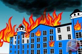 Gedung DPRD Gowa dibakar pengunjuk rasa