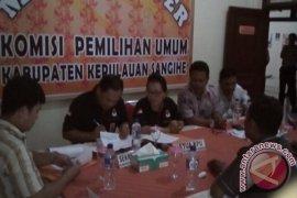 Pemeriksaan berkas pasangan calon Gaghana-Hontong oleh KPU Sangihe Page 1 Small