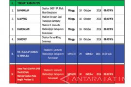 Karapan Sapi Piala Presiden Digelar 30 Oktober 2016