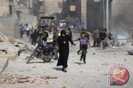 Pemboman Gencar Gerilyawan Tewaskan 40 Orang di Aleppo, Suriah