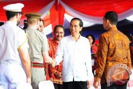 Presiden Joko Widodo Hadiri Sail Karimata
