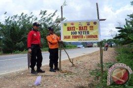 BPBD Kaltim-Kaltara Disiagakan di Jalan Ambles