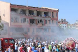 Pesawat Jet Serang Gerilyawan Suriah di Dekat Perbatasan Turki