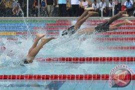 Renang estafet putri Indonesia pecahkan rekornas