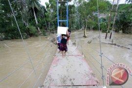 Banjir Landa Empat Kecamatan di Boalemo