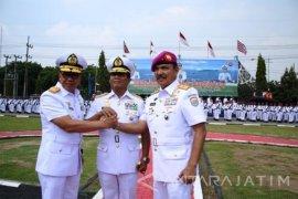 Pangarmatim Pimpin Sertijab Danlantamal V Surabaya
