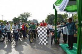 Dubes Denmark Kampanyekan Sepeda Transportasi Ramah Lingkungan di Pontianak