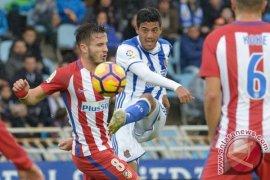 Vela bawa Sociedad menang 2-0 atas Atletico