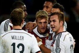 Jerman mengalahkan Arab Saudi 2-1