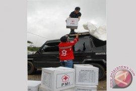 PMI Salurkan Logistik Untuk Korban Banjir