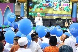 Seribuan Anak Yatim Banyuwangi Berdoa untuk Indonesia