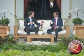 """Presiden Jokowi minta PM Rutte bantu kelancaran negosiasi """"CEPA"""""""